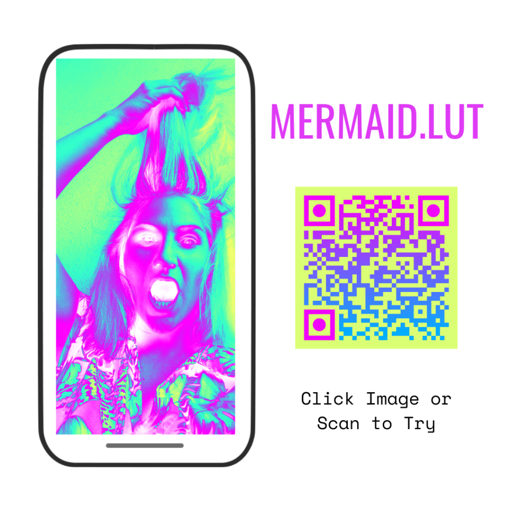 design of augmented reality mermaid lut